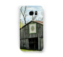 Kentucky Barn Quilt - Mariners Compass Samsung Galaxy Case/Skin