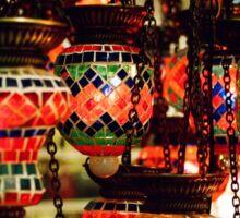 Lanterns in the Grand Bazaar Sticker