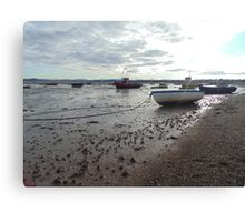 boat seaside Canvas Print