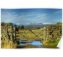A Langdale View Revisited Poster