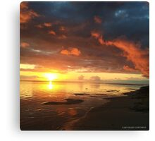 Shine for all to see Canvas Print