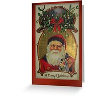 Vintage Christmas Card 3 Greeting Card