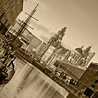 Tall Ship in Liverpool by Stephen Knowles