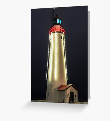 Christmas at Fort Gratiot Greeting Card