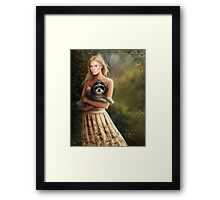 Clean Sweep: Dina Framed Print