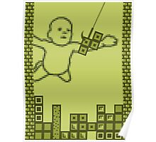 Nevermind the Tetris Poster