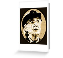 Grace Hopper - COBOL  Greeting Card
