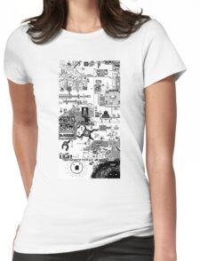 100 Bit Shirt Womens Fitted T-Shirt