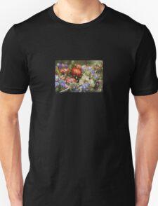Multicolored Floral Machine Dreams #1 T-Shirt