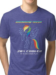 20% cooler Rainbow Dash Tri-blend T-Shirt