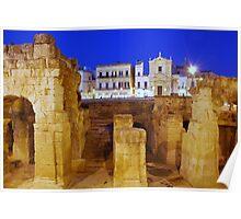 Roman Ruins & Baroque  Poster