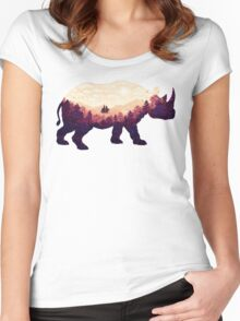 Rhinoscape Women's Fitted Scoop T-Shirt