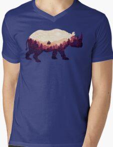 Rhinoscape Mens V-Neck T-Shirt