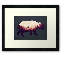 Rhinoscape Framed Print