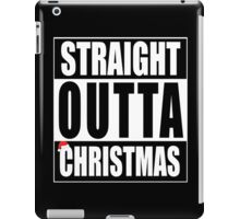 Straight Outta Christmas iPad Case/Skin