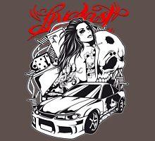 Live Fast - Sportscar Girl Unisex T-Shirt