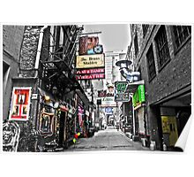 Printers Alley Poster