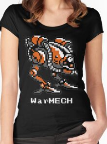 WarMECH Final Fantasy 1 NES TeeShirt for BLACK Women's Fitted Scoop T-Shirt