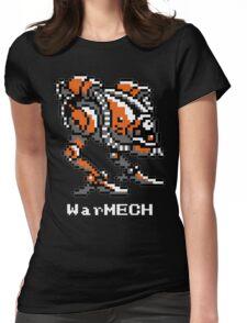 WarMECH Final Fantasy 1 NES TeeShirt for BLACK Womens Fitted T-Shirt