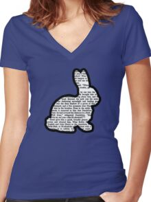 Watership Down - El-ahrairah-The Prince with a Thousand Enemies Women's Fitted V-Neck T-Shirt