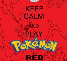 Keep calm and RED! by BlueFayt