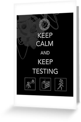 Keep Testing by BlueFayt