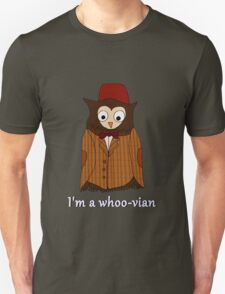 I'm a whoo-vian Unisex T-Shirt