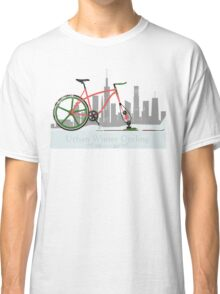 Urban Winter Cycling Classic T-Shirt