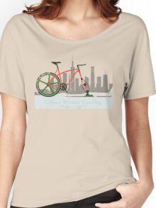 Urban Winter Cycling Women's Relaxed Fit T-Shirt