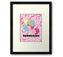 Okidokiloki! Framed Print