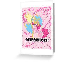 Okidokiloki! Greeting Card