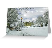 Card - St Mary's Churchyard, Tutbury  Greeting Card