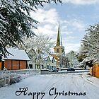 Card - Church Road, Rolleston on Dove  by Rod Johnson