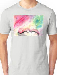 Pokeballs - watercolour Unisex T-Shirt