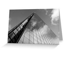 The Shard London Greeting Card