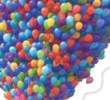 Up - Balloon House Sticker