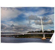 Peace Bridge, Derry Poster