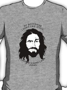 Looks Like Jesus; Hung Like Judas T-Shirt