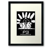 Thanatos & Minato persona 3 Framed Print