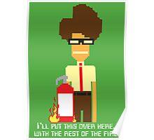 Moss the Fireman Poster