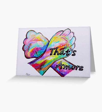 American Sign Language - That's Amore! Greeting Card