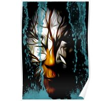 Save our trees Mask series Poster