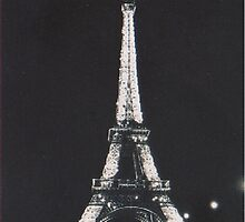 Eiffel tower by pandasinspace