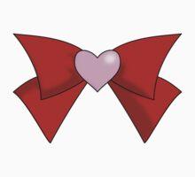 Super Sailor Mini Moon Bow (Simple Brooch) T-Shirt