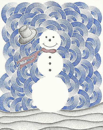 Christmas Tree Ornament by pfarley