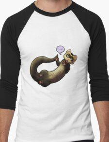 Ferret Men's Baseball ¾ T-Shirt