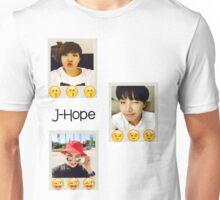 J-Hope emoji polaroids Unisex T-Shirt