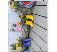 Shoe Flowers - Homer iPad Case/Skin