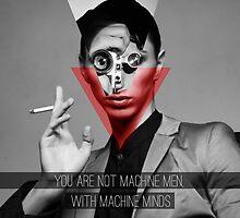 Machine Mind Quote by District56