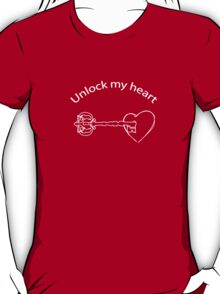 Unlock my heart T-Shirt